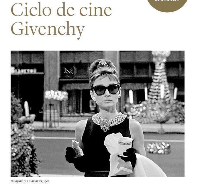 CICLO DE CINE GRATUITO EN EL MUSEO THYSSEN, DENTRO DE LA EXPOSICIÓN DEDICADA A GIVENCHY.