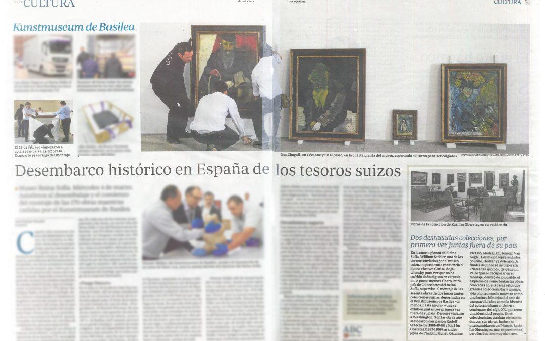 KUNSTMUSEUM DE BASILEA – REPORTAJE EN EL PERIÓDICO ABC