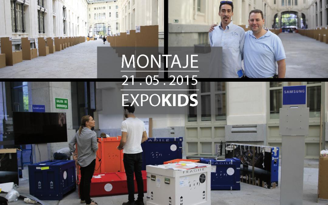 EXPOKIDS – MONTAJE  21.05.2015