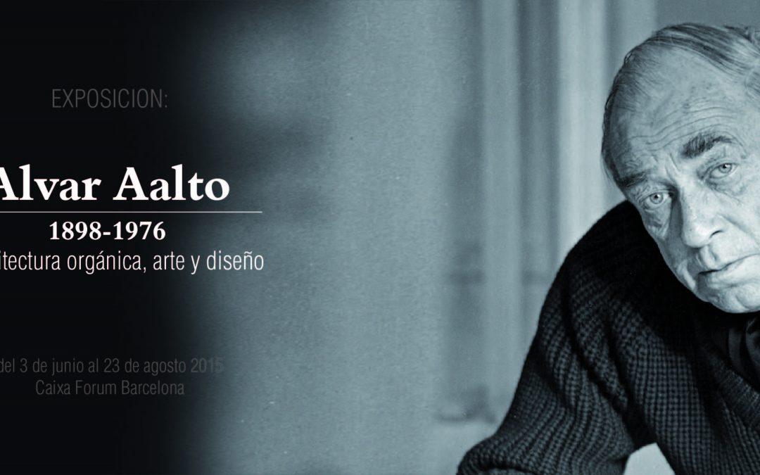ALVAR AALTO (1898-1976). ARQUITECTURA ORGÁNICA, ARTE Y DISEÑO