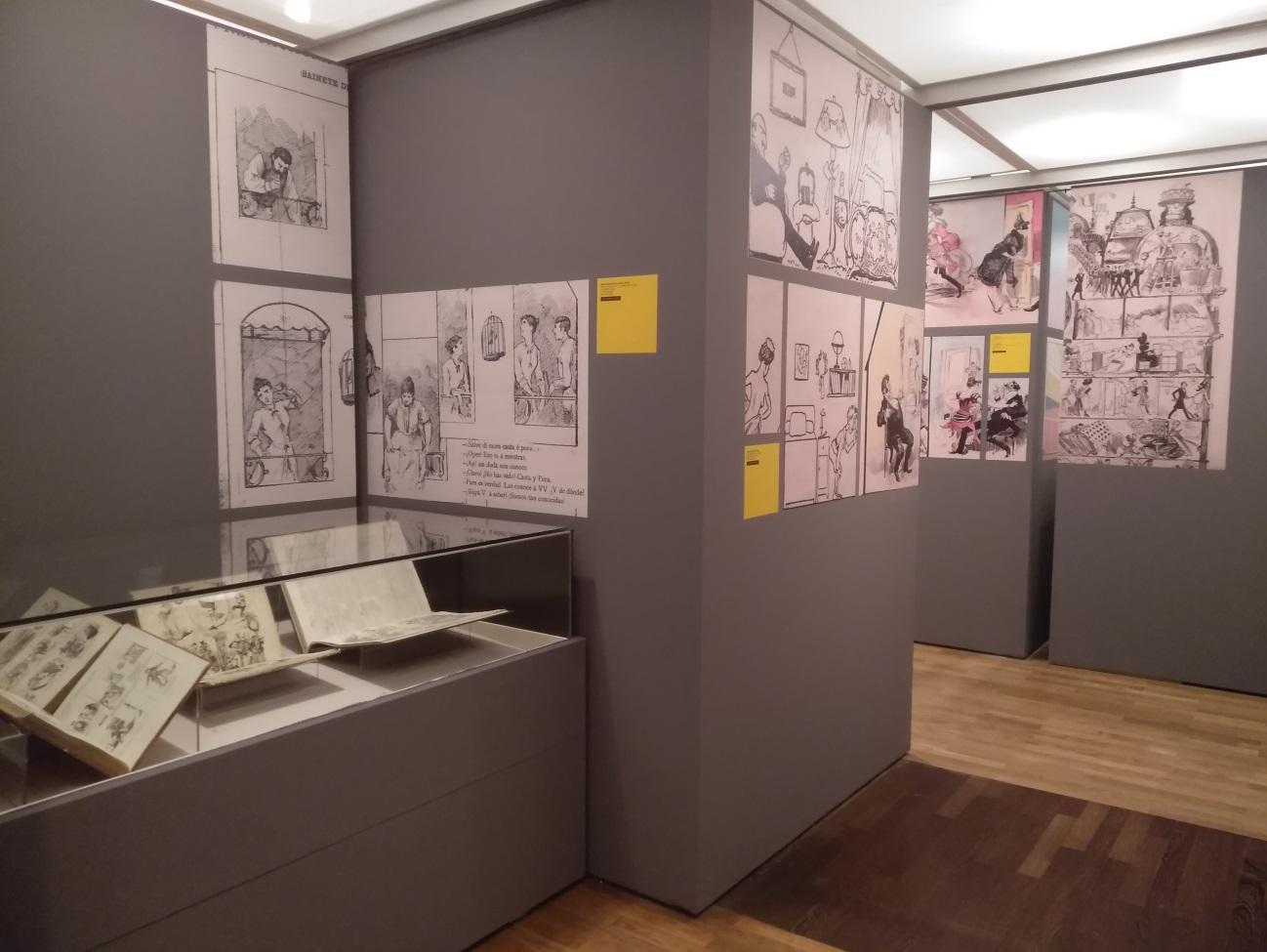 SIT y las viñetas en La Biblioteca Nacional