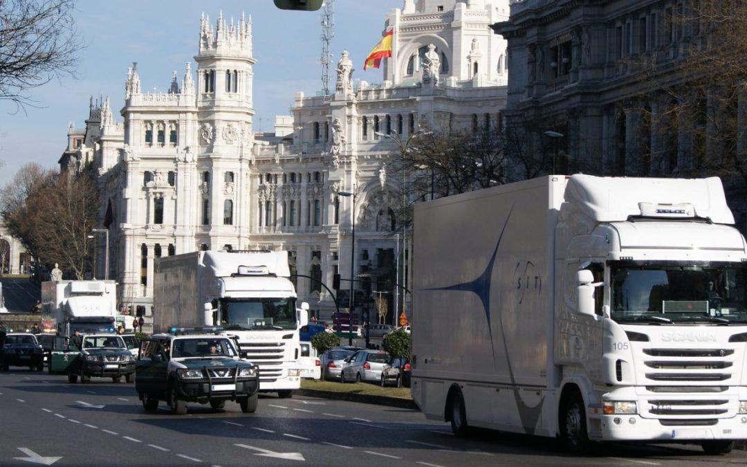 Mudanzas a Madrid