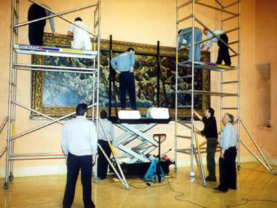 SIT AND THE MOVING OF THE THYSSEN-BORNEMISZA COLLECTION