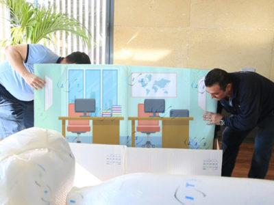 COVID19 – SIT Spain desinfecta el mobiliario de su oficina de principio a fin.
